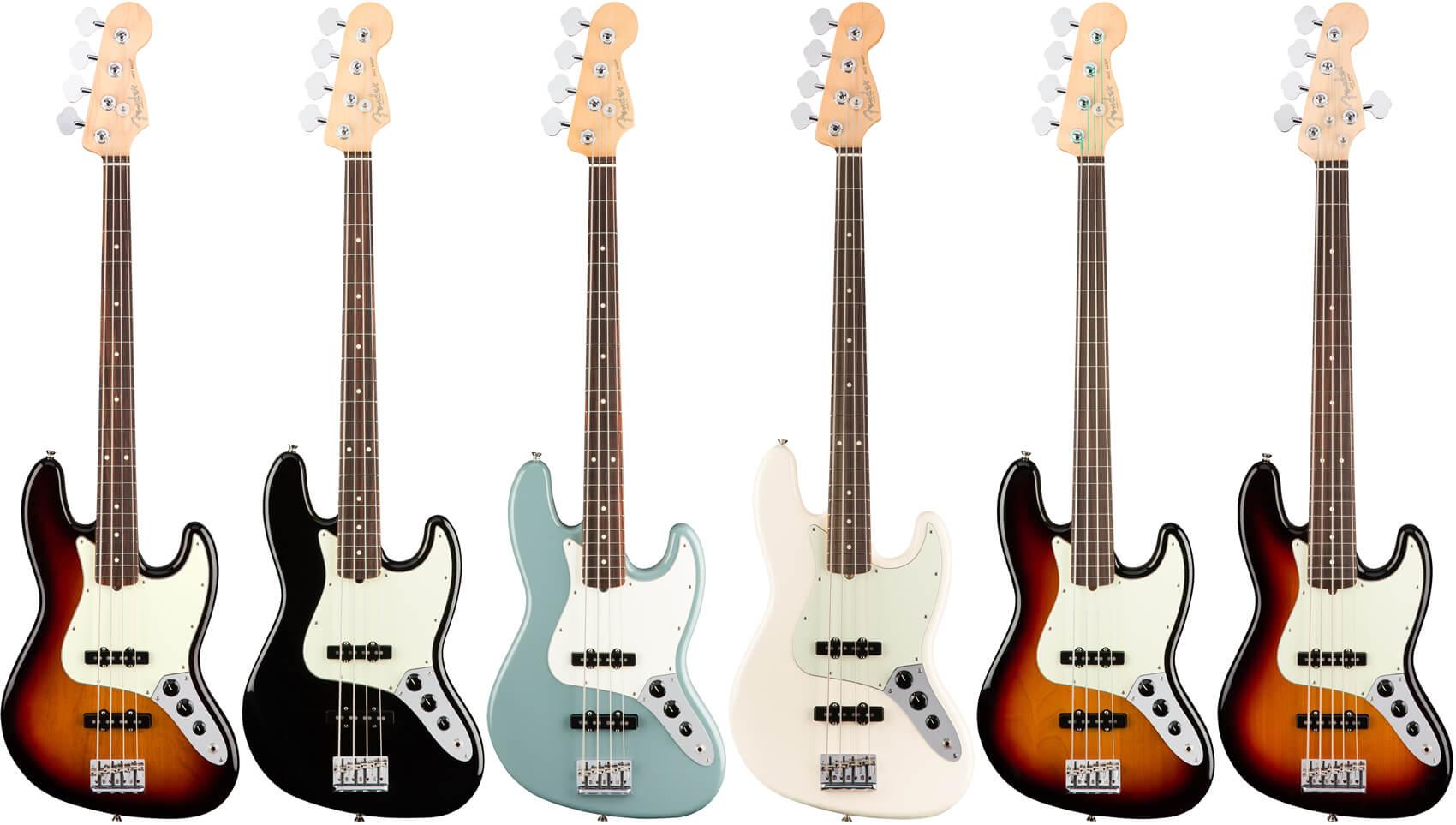 American Professional Jazz Bass