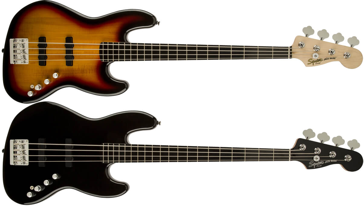 Squier Deluxe Jazz Bass