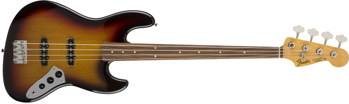 Japan Exclusive Jazz Bass Fretless
