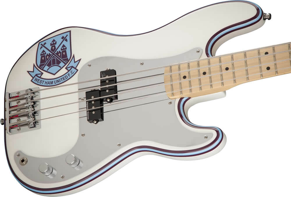 Steve Harris Precision Bass:ボディ