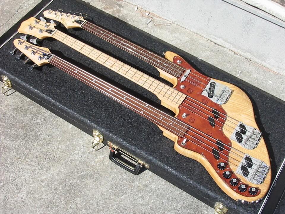 wal製トリプルネック・ベース