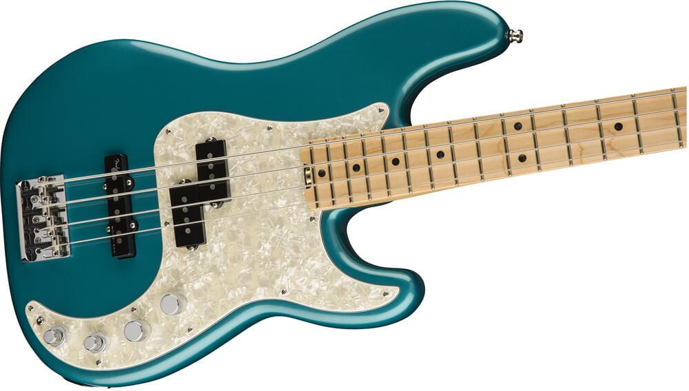 American Elite Precision Bass:ボディ