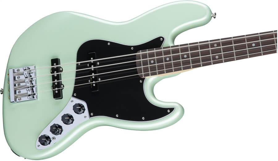 Deluxe Active Jazz Bass:コントロール
