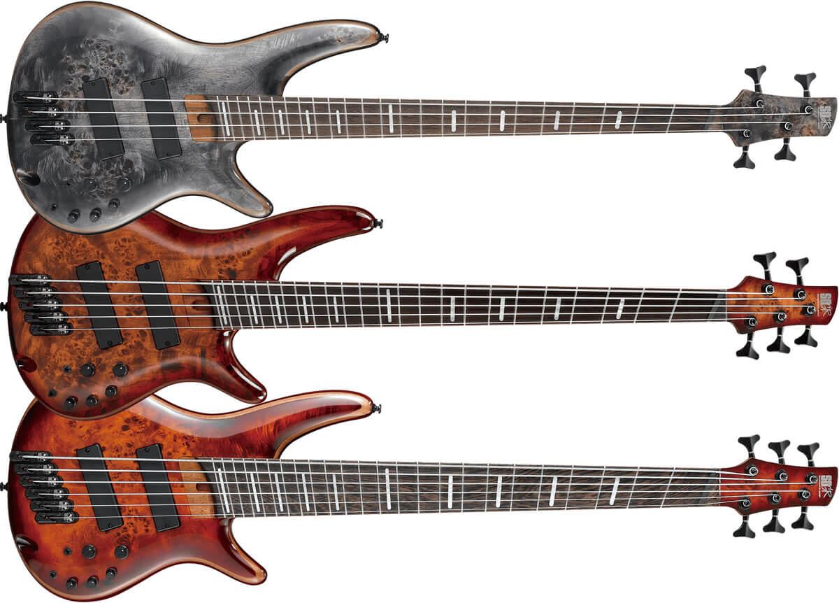 Ibanez SRMS800/805/806 Bass Workshop
