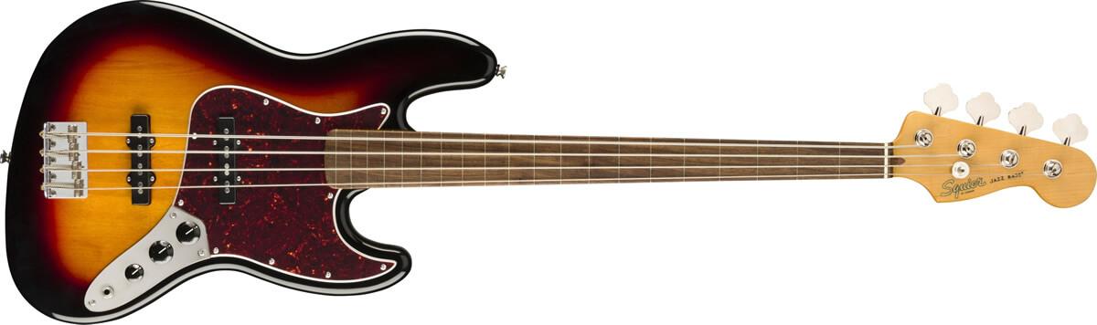 Classic Vibe 60s Jazz Bass Fretless